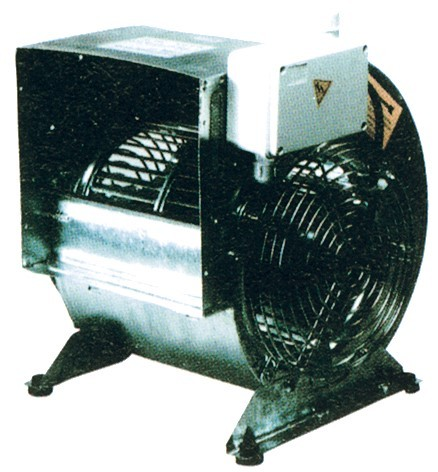 Radial Ventilatoren - 298x378x387 mm
