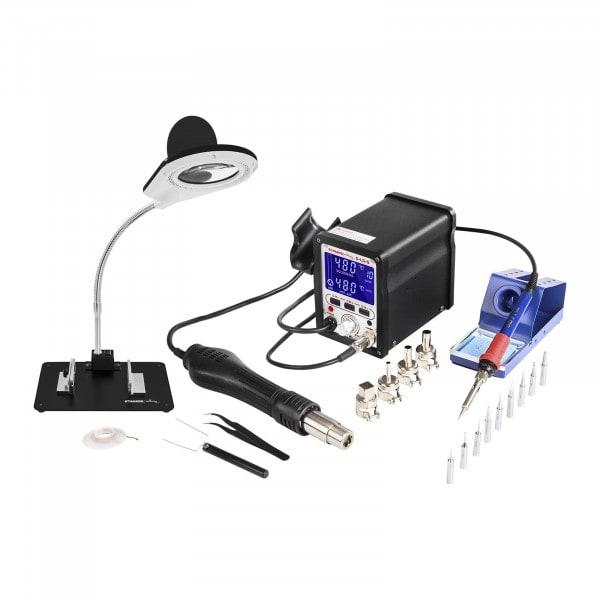 Kit Station de soudage - 75 watts - avec mémorisation + Accessoires