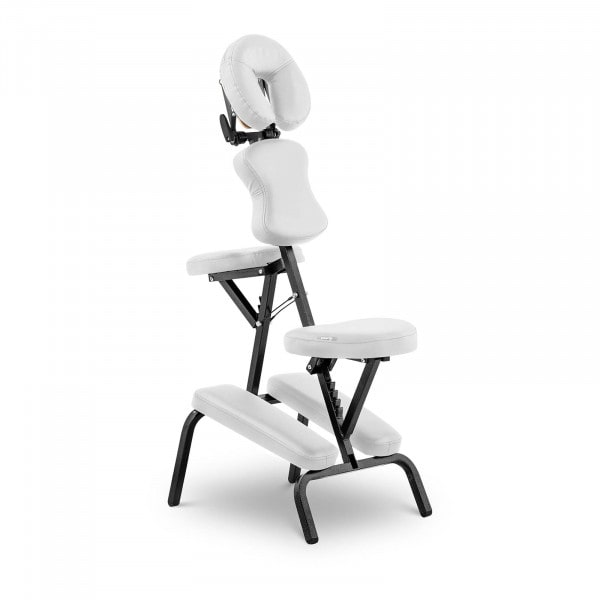 Folding Massage Table MONTPELLIER WHITE - white