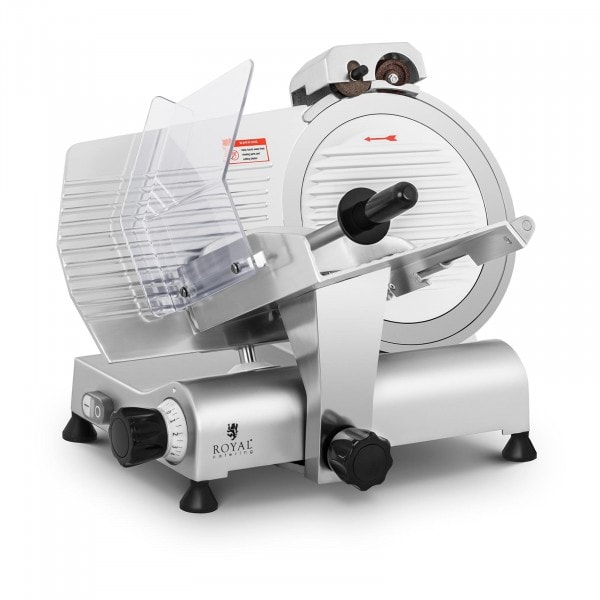 Meat Slicer - Ø 300 mm - 0 - 11 mm - with blade sharpener