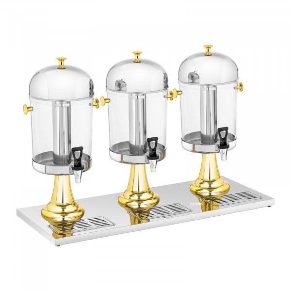 Saftspender - 3 x 8 L - Kühlsystem