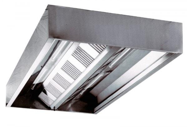 Deckenhaube - (Kastenform) - 2800x1200x480 mm