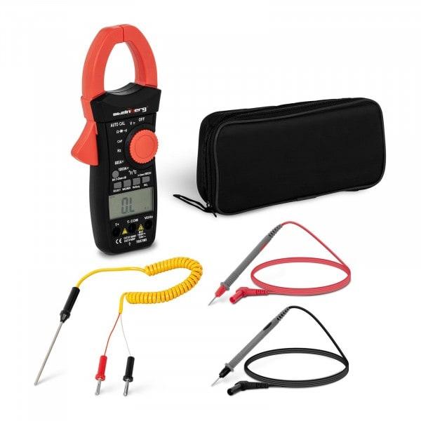 Pinza amperometrica - LCD - CAT III - TRMS - Misurazione corrente di avvio