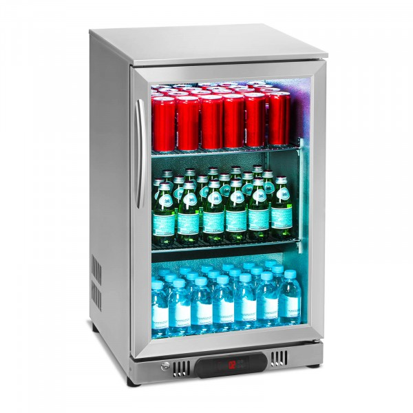 Factory second Drinks Fridge - 108 L - Stainless Steel