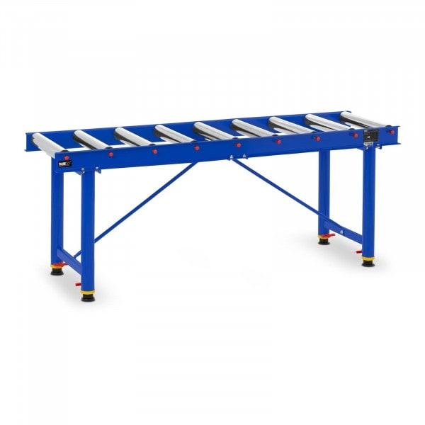 Roller Table - 300 kg - 165.5 cm - 9 Rollers