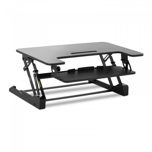 B-Ware Schreibtischaufsatz - 8-fach höhenverstellbar - 16,5 bis 41,5 cm