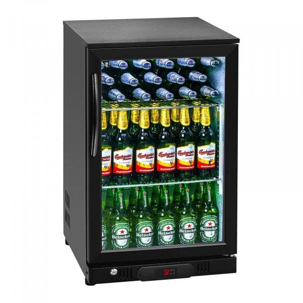 Seconda Mano Vetrina frigo per bibite da banco - 108 litri - Con interni in alluminio