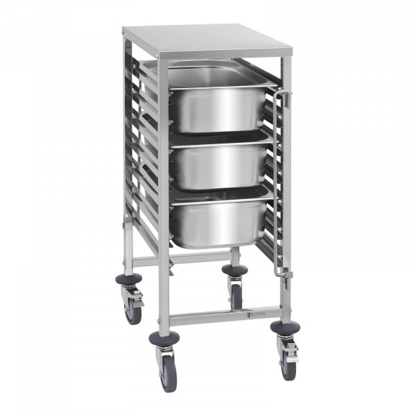Serving Trolley - 7 GN Shelves