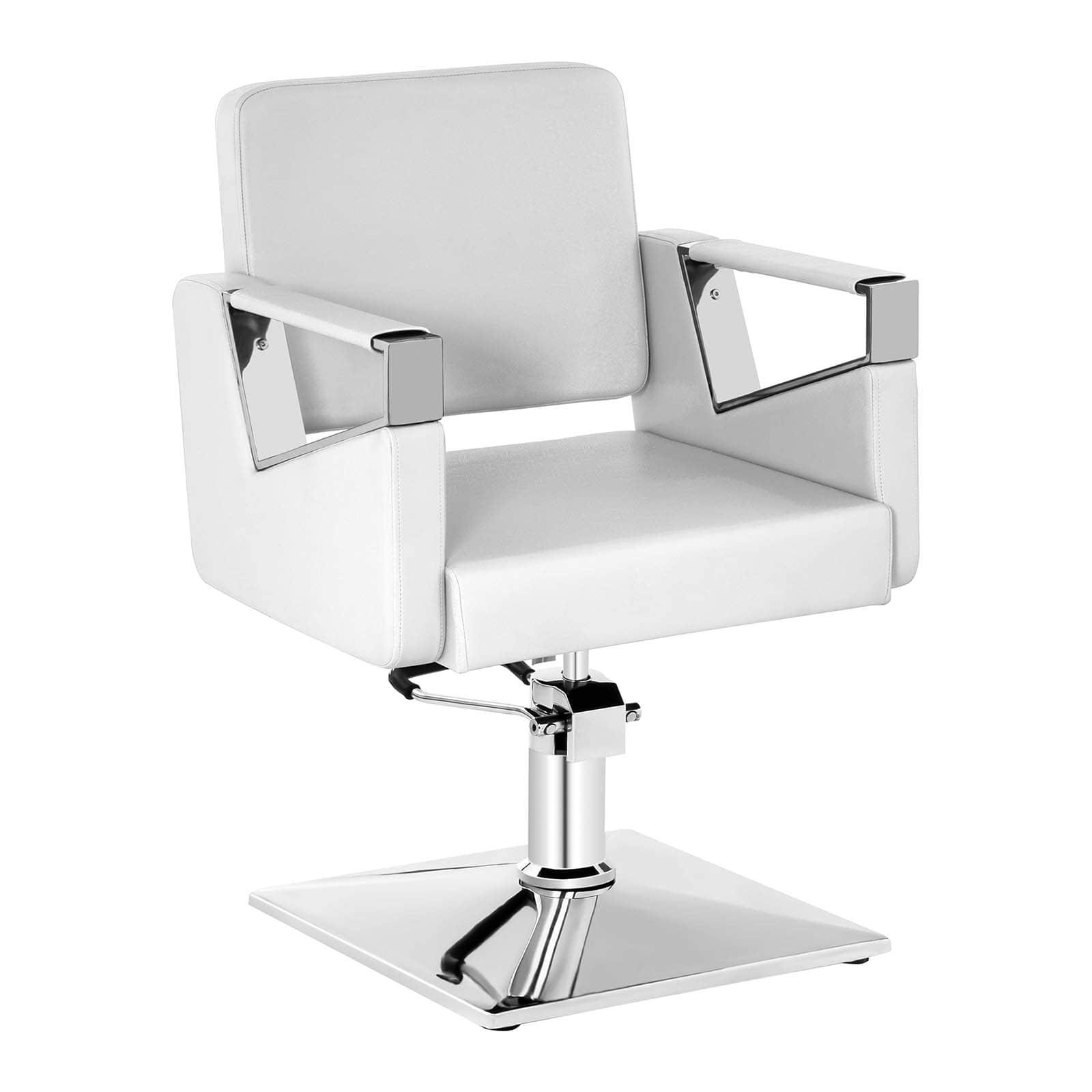 Fotel fryzjerski Bristol - biały - 200 kg