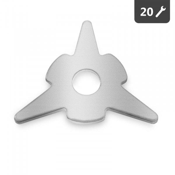 Ausbeulstern - 20 Stück