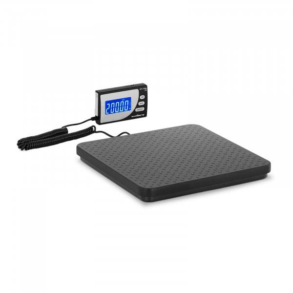 Digitale Paketwaage - 200 kg / 100 g - 30 x 30 cm - externes LCD