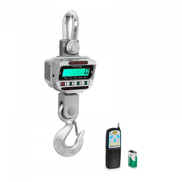 Crane Scales - 10 t / 2 kg - LCD