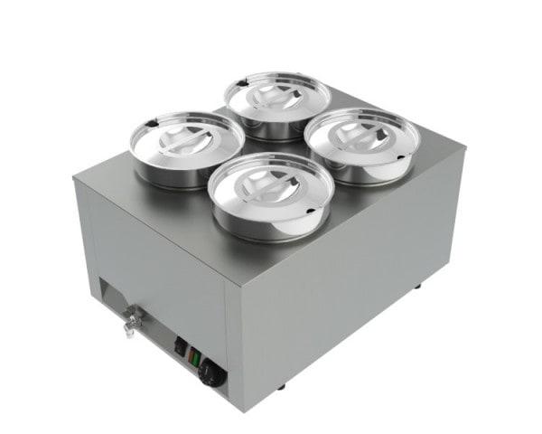 Suppenstation 4x 4,5 Liter - 450x600x350 mm