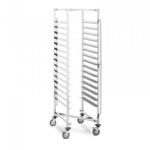Tablettwagen - 15 Einschübe - 150 kg