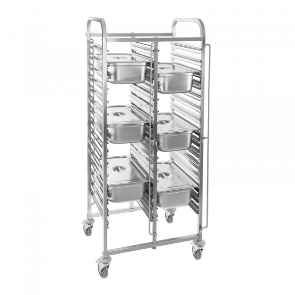 Factory seconds Transport Trolley - 30 GN Slots