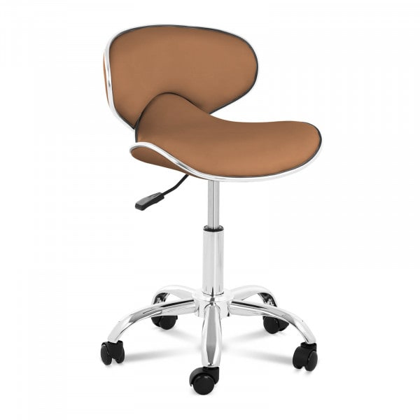 Stool Chair with Back PHYSA MUNICH CAPPUCCINO