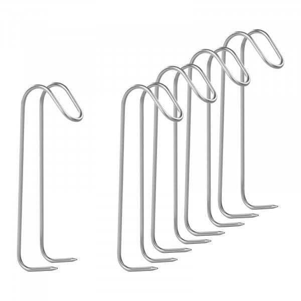 Rookhaken-set van 5 - met twee doorns