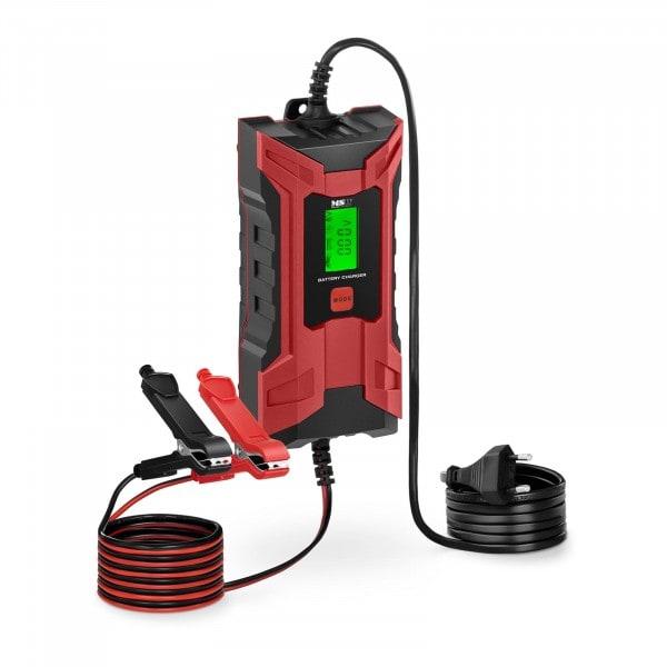 B-Ware Autobatterie-Ladegerät - 6/12 V - 2/4 A - LCD-Anzeige