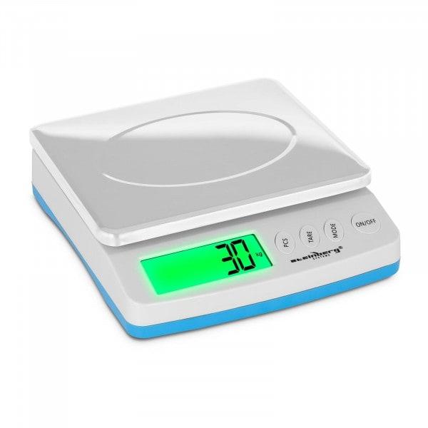 Digitální poštovní váha - 30 kg / 1 g