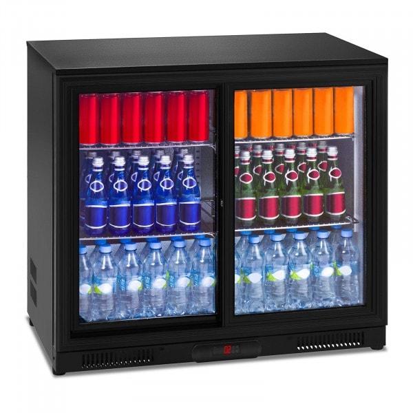 Flaskekjøleskap - 208 L - indre skap i aluminium