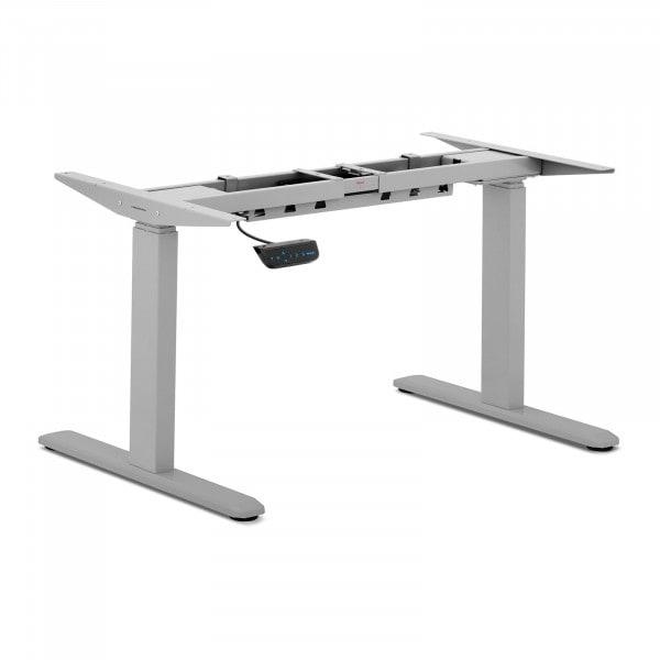 Höhenverstellbares Schreibtischgestell - 200 W - 100 kg - grau
