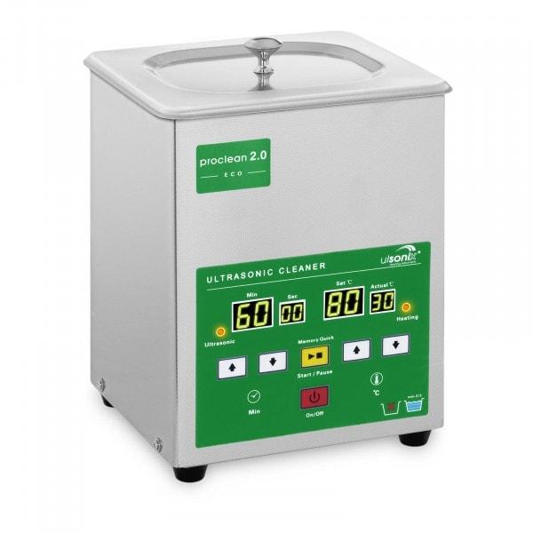 Zboží z druhé ruky Ultrazvuková čistička - 2 litry - 60 W - Memory Quick Eco