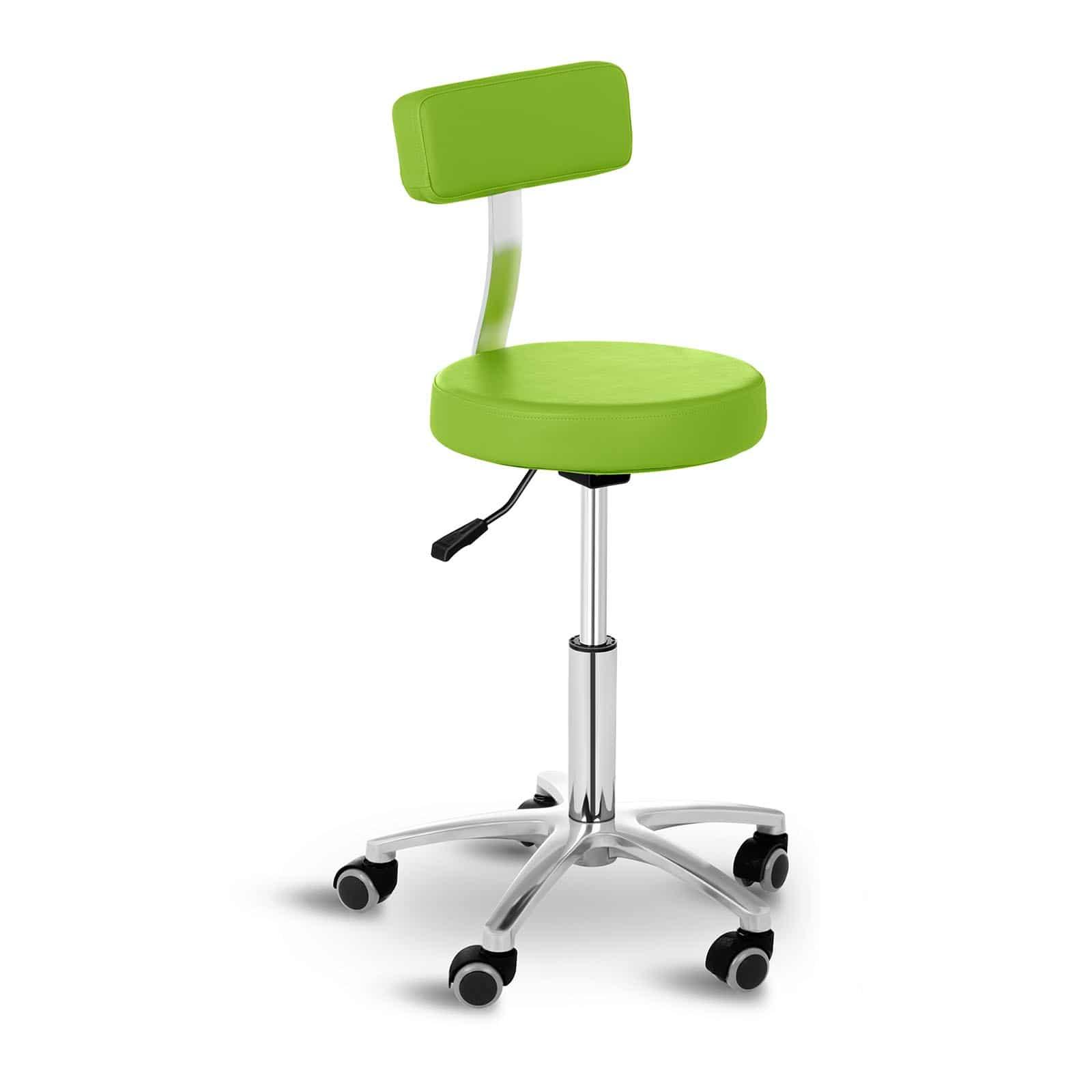 Krzesło kosmetyczne Physa Terni - Zielone