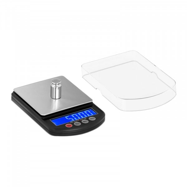 Digital presisjonsvekt - 500 g - ±0.05 g / 200 g - 100 x 100 mm