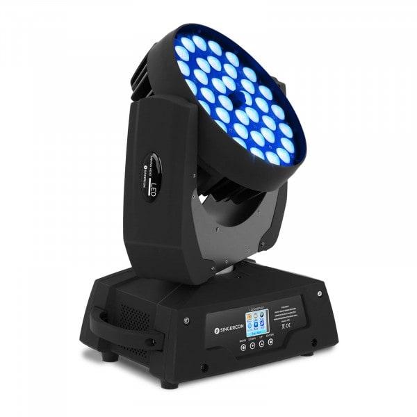 LED Moving Head Zoom - 36 LEDs - 450 W