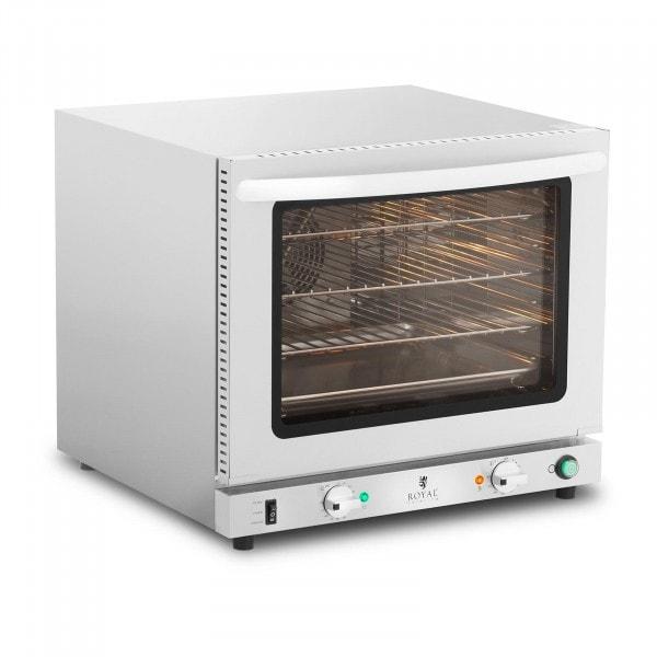 Heißluftofen - 2.800 W - Dampffunktion - inkl. 3 Gitterroste + 1 Blech