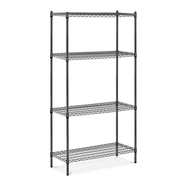 Estantería de metal - 90 x 45 x 180 cm - 1.000 kg - gris