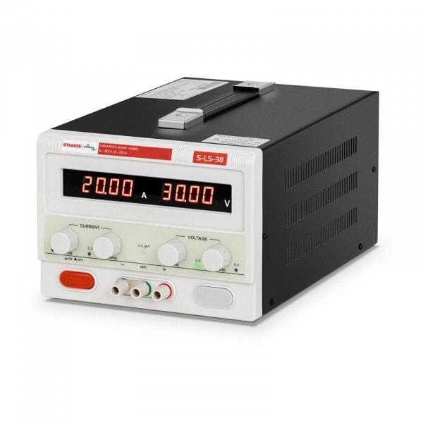Laboratory Power Supply - 0-30 V - 0-10 A DC - 600 W