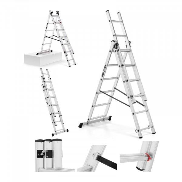 Escalera de aluminio - altura 3,45 m