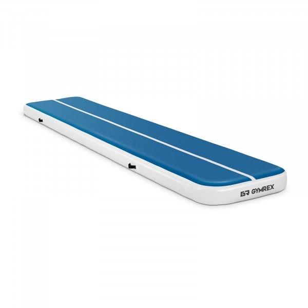 Artigos usados Tapete de ginástica inflável - 500 x 100 x 20 cm - azul-branco