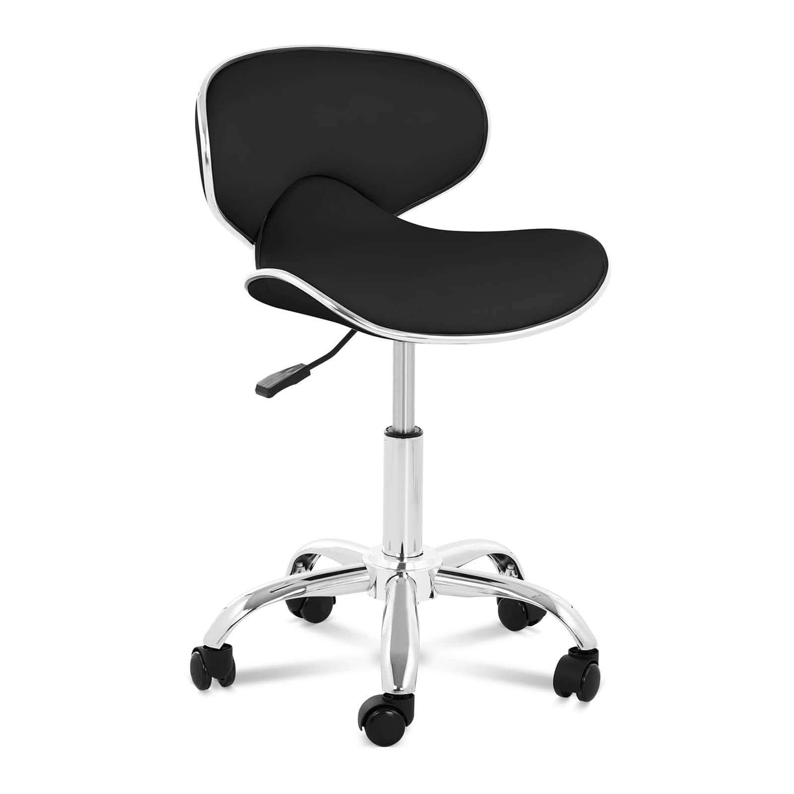 Krzesło kosmetyczne Munich - czarne