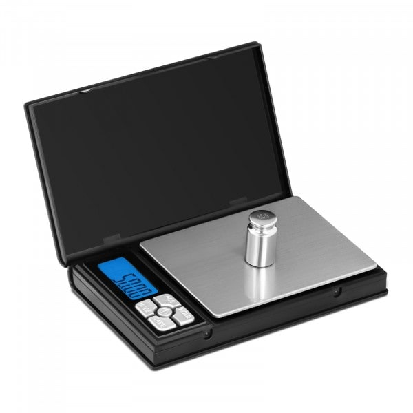Digitale Taschenwaage - 500 g - 0,05 g / 200 g - 115 x 91 mm