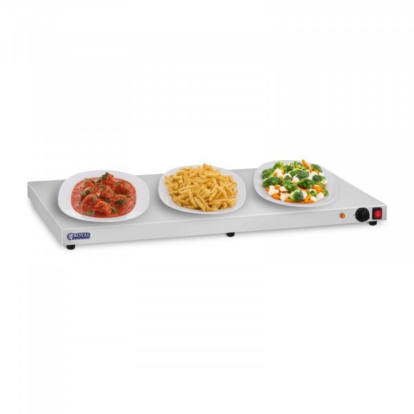 Stainless Steel Hot Tray - 600 Watts - 100 cm