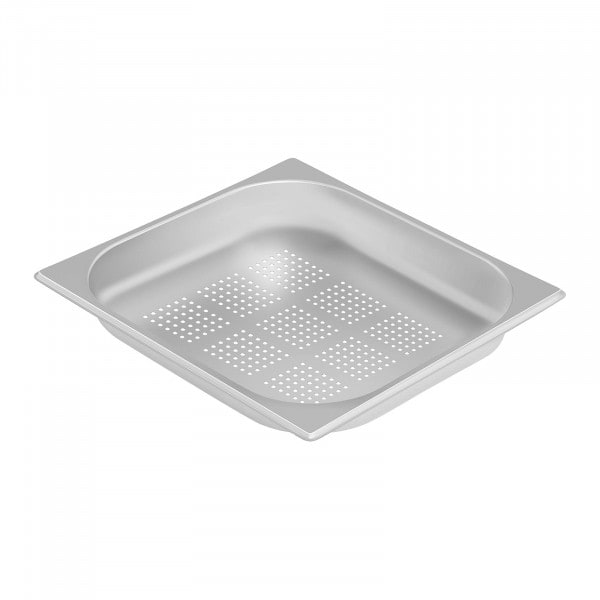 Gastronorm Tray - 2/3 - 40 mm - Perforated