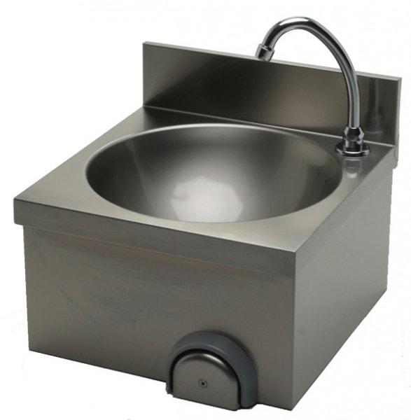 Handwaschbecken 400x400x235 mm - Edelstahl