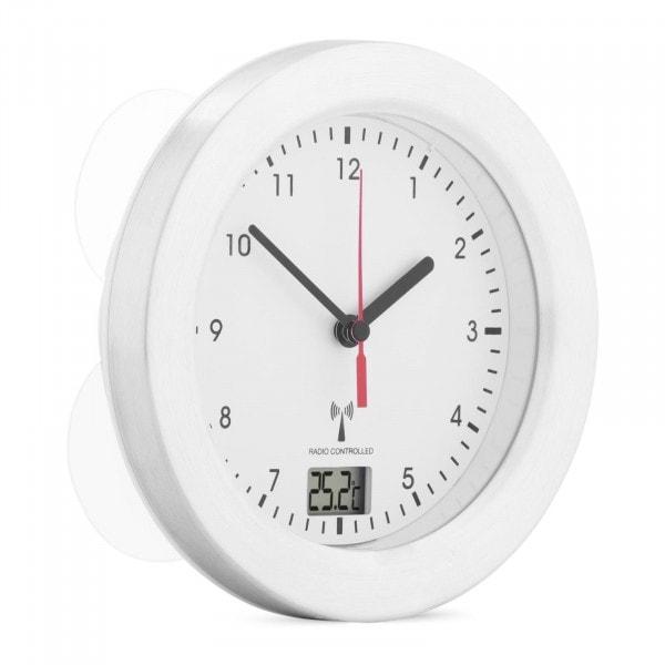 Occasion Horloge murale radiopilotée pour la salle de bain - 17 cm