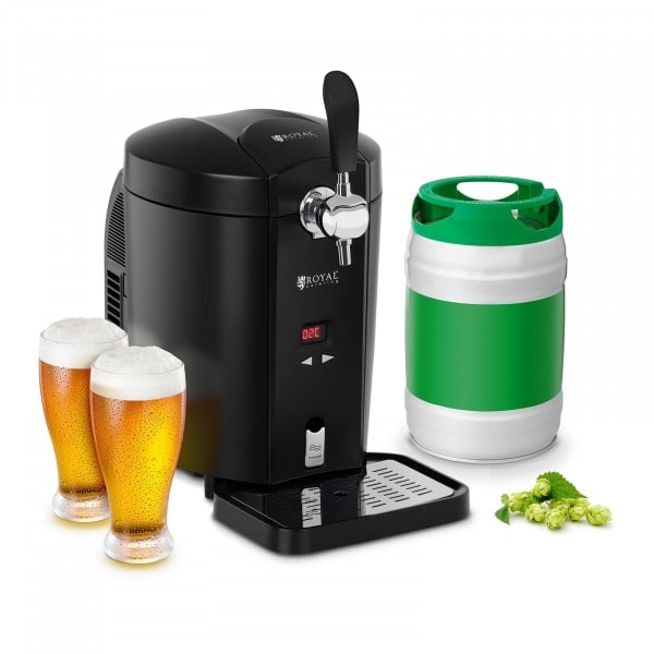 Beer Dispenser with Cooler - 5 L - 2 to 12 °C