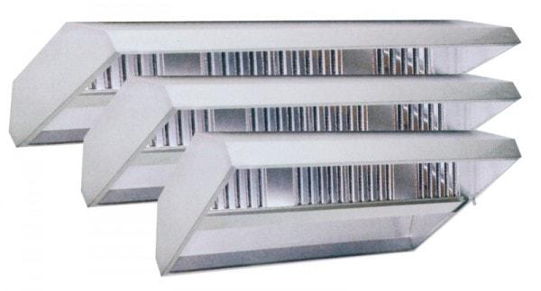 Deckenhaube - 2400x2200x450 mm