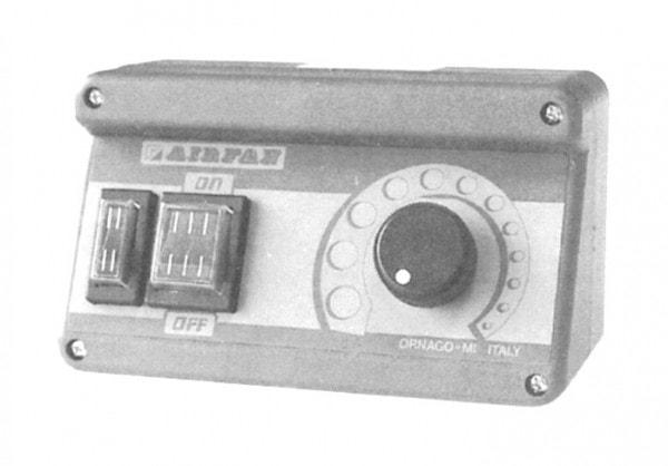 Drehzahlregler - 160 x 80 x 95 mm