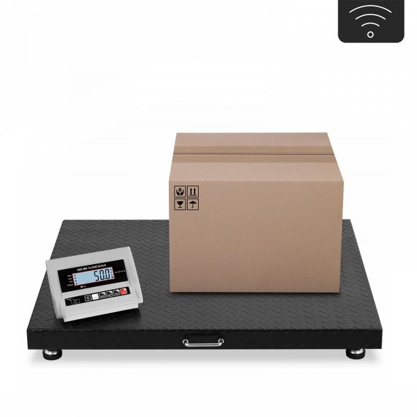 Factory seconds Floor Scale - 3 t / 1,000 g - LCD - wireless