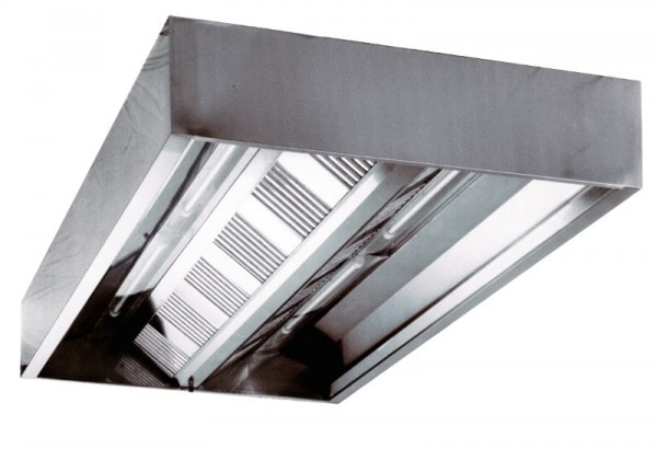 Deckenhaube - (Kastenform) - 1600x1200x480 mm