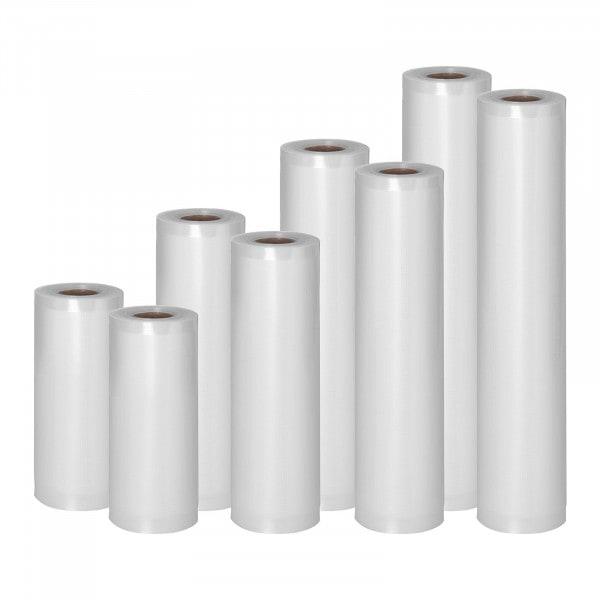 Vakuumpåser - Sett med 8 ruller - 48 m - 15 til 30 cm