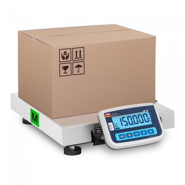 Paketwaage - geeicht - 150 kg / 50 g