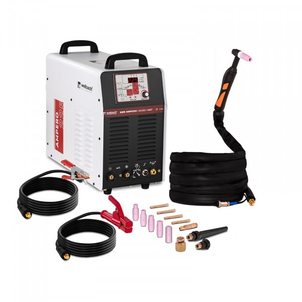 Aluminium Welder - 225 A - 230 V - Pulse - Digital