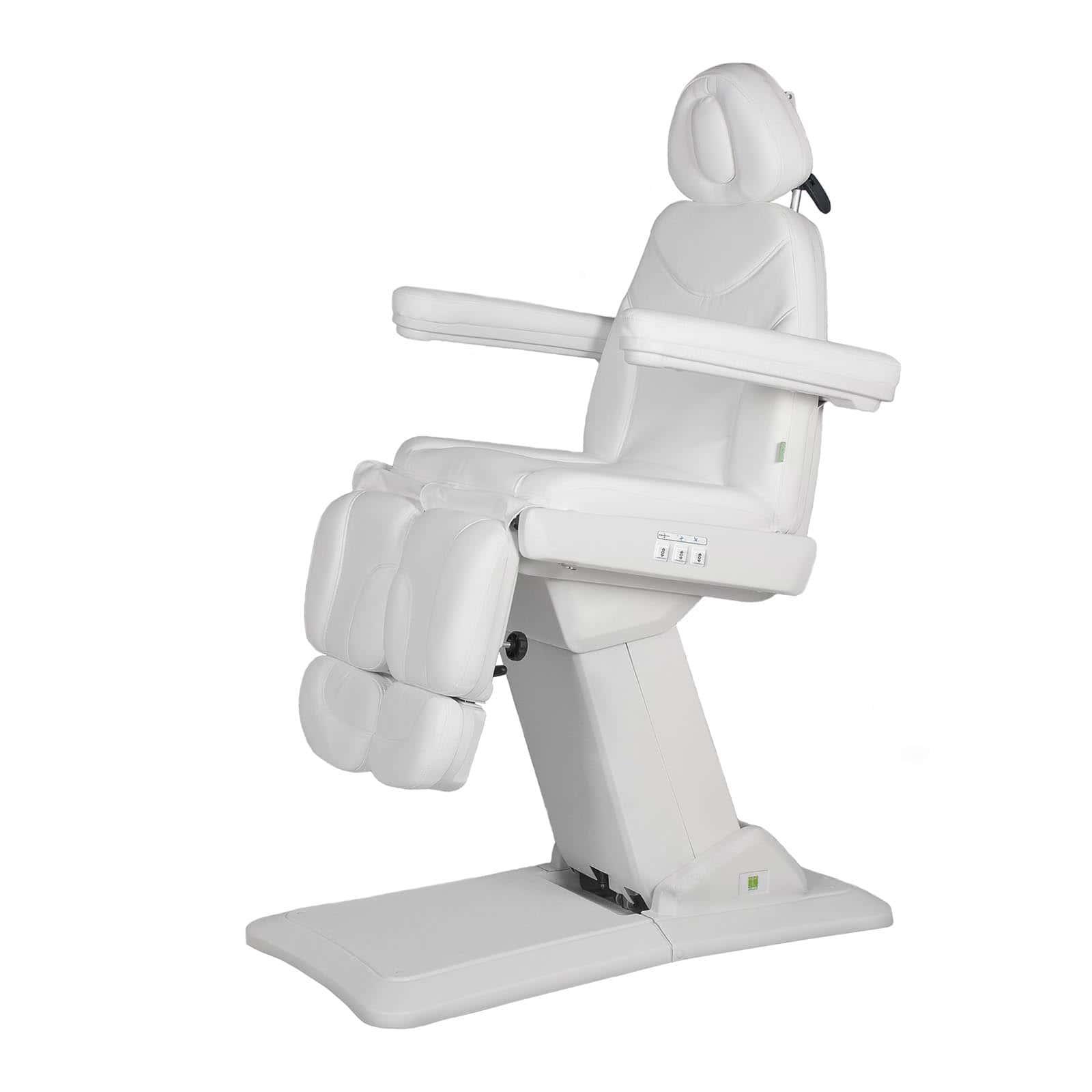 Biały fotel kosmetyczny do pedicure Pretty