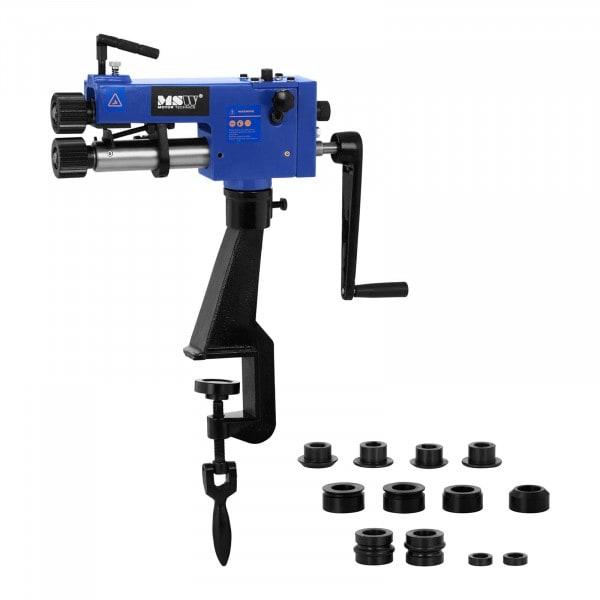 Tweedehands Bead Roller - 177 mm - handmatig - 6 paar matrijzen